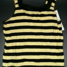 GYMBOREE TANK TOP BEE CHIC YELLOW BLACK STRIPE SHIRT 3T NWT TULLE GIRLS