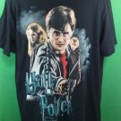 Black Harry Potter T Shirt Large L And The Deathly Hallows Movie Hermione Book
