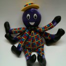 """Henry the Octopus The Wiggles Talking Singing Dolls Plush Stuffed 15"""""""