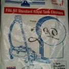 Royal / Dirt Devil Paper Bags - 3pack  Type J Part# 3-040447-001
