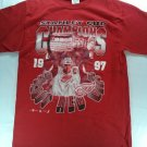 Detroit Red Wings Stanley Cup Champions Medium M T Shirt 1997 Hockey League