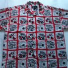 Zooks Jeans Urban Legend Hawaiian Mens Shirt Money Dollar Dice Cards 3XL XXXL 3X