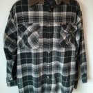 Columbia Sportswear Flannel Corduroy Mens Men Long Sleeve Shirt Brown Plaid XL