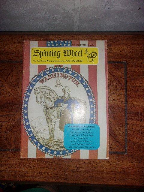 Vintage Spinning Wheel Magazine April 1974