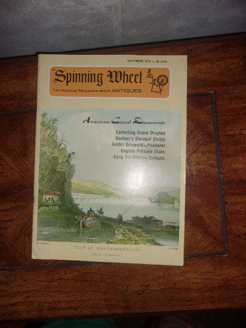 Vintage Spinning Wheel Magazine September 1974