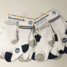 NEW 12 PAIR LOT WHITE SOCKS BABY TODDLER BOY 18-36 MONTHS SHOE SZ 6-13 WHOLESALE