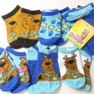 NEW 5 PAIRS LOT SCOOBY DOO  BABY TODDLER BOY 6-18 MONTHS SHOE SZ 2-8 WHOLESALE