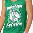 NEW SIZE S BOSTON CELTICS GREEN NBA ATHLETIC MESH JERSEY TANK TOP MENS SHIRT