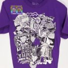 "BRAND NEW ""SIZE 14-16"" PHINEAS AND FERB WORLD UV INK COLOR CHANGING BOYS SHIRT"