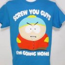 "NEW SIZE S CARTMAN SOUTH PARK ""SCREW YOU"" SHOW FUNNY CLASSIC MENS SHIRT"