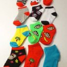 NEW 12 PAIR BABY TODDLER GIRL 12-24 MONTH SHOE SZ 4-10 MONKEY SOCKS WHOLESALE