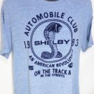 NEW SIZE L SHELBY COBRA AUTOMOBILE CLUB AMERICAN REVOLUTION PREMIUM MENS SHIRT