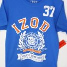 TT53 NEW SZ 14-16 IZOD ROYAL BLUE CLASSIC ATHLETICS SOFT BOYS CASUAL T SHIRT