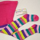 NEW GARANIMALS SIZE 2T-4T MONTHS PINK STRIPED BABY TODDLER FOOT IN GIRLS TIGHTS