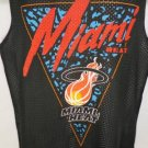 NEW SIZE S NBA MIAMI HEAT BLACK RED ATHLETIC MESH JERSEY TANK TOP MENS SHIRT
