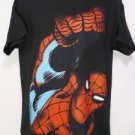 NEW SIZE M BIG WEB SWINGING CITY SPIDERMAN MARVEL COMICS  SOFT MENS SHIRT