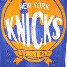 NEW SIZE S NEW YORK KNICKS BLUE NBA ATHLETIC MESH JERSEY TANK TOP MENS SHIRT