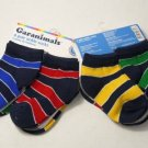 NEW 12 PAIR LOT YOUNG BOYS 3-5 YEARS OLD SHOE SZ 13-3 STRIPED SOCKS WHOLESALE
