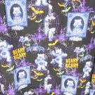 S99 NEW SIZE M CARE BEARS BEARY SCARY SNAP BUTTON LONG SLEEVE SCRUB JACKET SHIRT