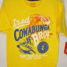 YL41 NEW SZ 8 IZOD YELLOW ORANGE SURF UP SUMMER SOFT BOYS CASUAL T SHIRT