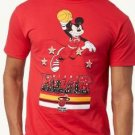NEW SIZE XL RARE DISNEY MICKEY MOUSE SLAM DUNK NBA MIAMI HEAT SOFT MENS SHIRT