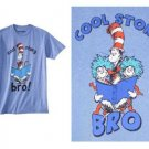 """BRAND NEW """"SIZE 18"""" DR. SUESS THE CAT IN THE HAT """" COOL STORY BRO"""" BOYS SHIRT"""
