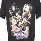 NEW L WWE THE UNDERTAKER BROCK LESNAR WRESTLEMANIA XXX CM PUNK JONN CENA SHIRT