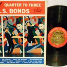 "1961 U.S.Bonds ""Dance Till Quarter To Three"" Music Record LP Album LLP 3001 OLDIES ROCK"
