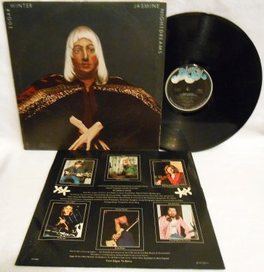 "EDGAR WINTER ""JASMINE NIGHTDREAMS"" VINYL MUSIC RECORD LP ALBUM ROCK EX/VG+"