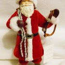 "Santa Figure Hallmark ""Father Christmas"" Large 12"" Tall Tabletop Mantel Santa NIB"