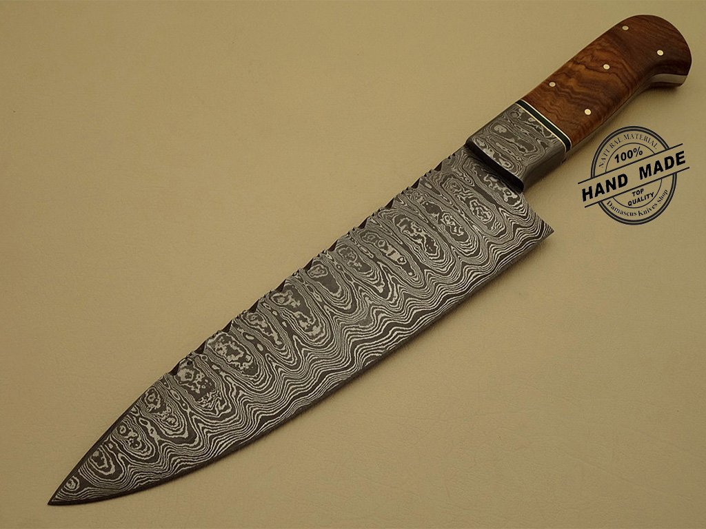 hand made kitchen knives professional damascus kitchen chef s knife custom handmade knife 1202 3516