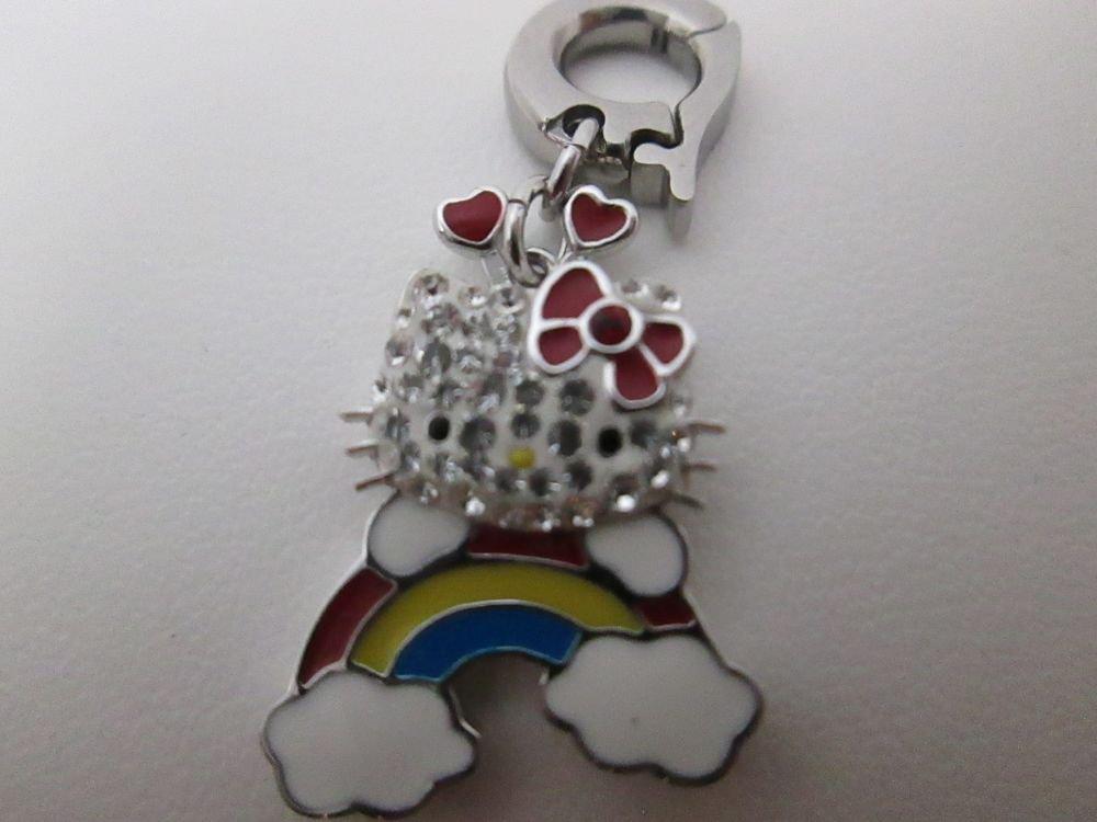 Swarovski SanRio Hello Kitty Rainbow Charm BNIB Free Shipping 1174611