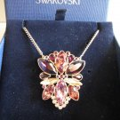 Swarovski Valina Pendant Necklace BNIB Purple Crystal 5019083 Mother's Day