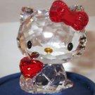 Swarovski Crystal Figurine Hello Kitty Red Apple BNIB 1096878