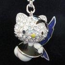 Hello Kitty Swarovski Rock Charm Pendant 1161310 Brand New in Box Free Shipping!