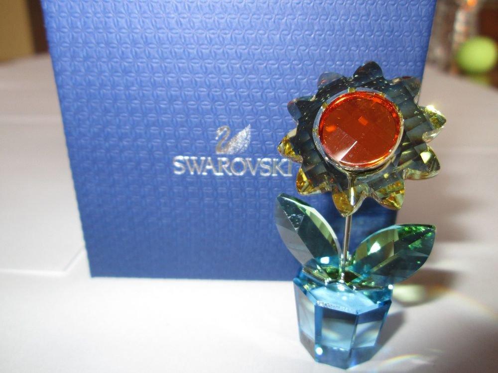 Swarovski Small Sunflower Figurine Item 5076632 Brand New in Box Retired