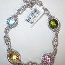 Judith Ripka  Fruit Multi-Stone Crystal and Quartz Bracelet BNIB with Tags