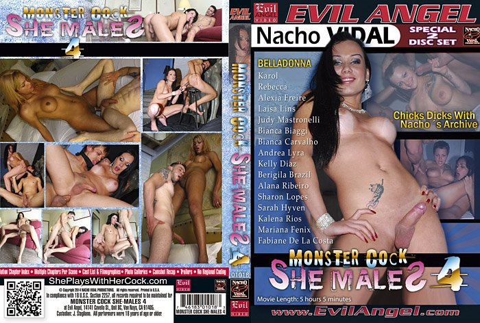 Monster Cock She-Males 4 (Special 2 Disc Set)