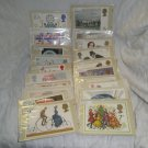 British Post Office PHQ Stamp Card Sets - 20 Sets - 1970's/80's - Mint Condition