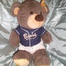 """Teddy Mountain - Bear Factory - soft Toy Bear wearing baseball outfit - 18"""" H"""