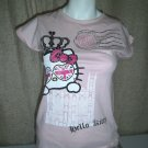 Marks & Spencer - Hello Kitty London - Pale Pink -Age 12 &13 years -100% cotton