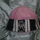 Horseware - Baby girls Pink  fleece beanie hat - new without tags