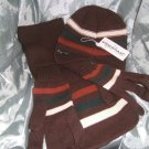 Horseware - Mens 3 piece set - Hat, Scarf & Gloves - New w/tags