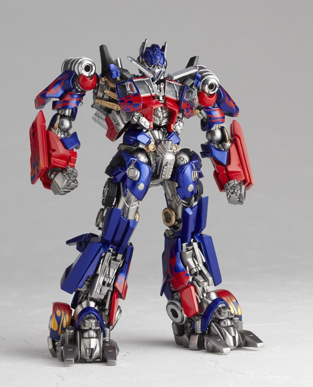 """New SCI-FI Revoltech No.030 """"Trans Former"""" Optimus Prime New Package Ver. (Figure)"""