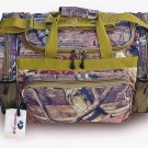 17'' Camo Duffle Bag Travel Overnite Hunting Camping Gym Duffel Tote Gear Pack
