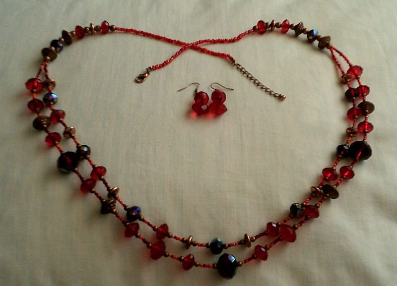 Maharani Necklace and Earrings