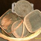 Wicker and Seagrass Baskets - 6