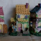 Easter Bunny houses - Tiny
