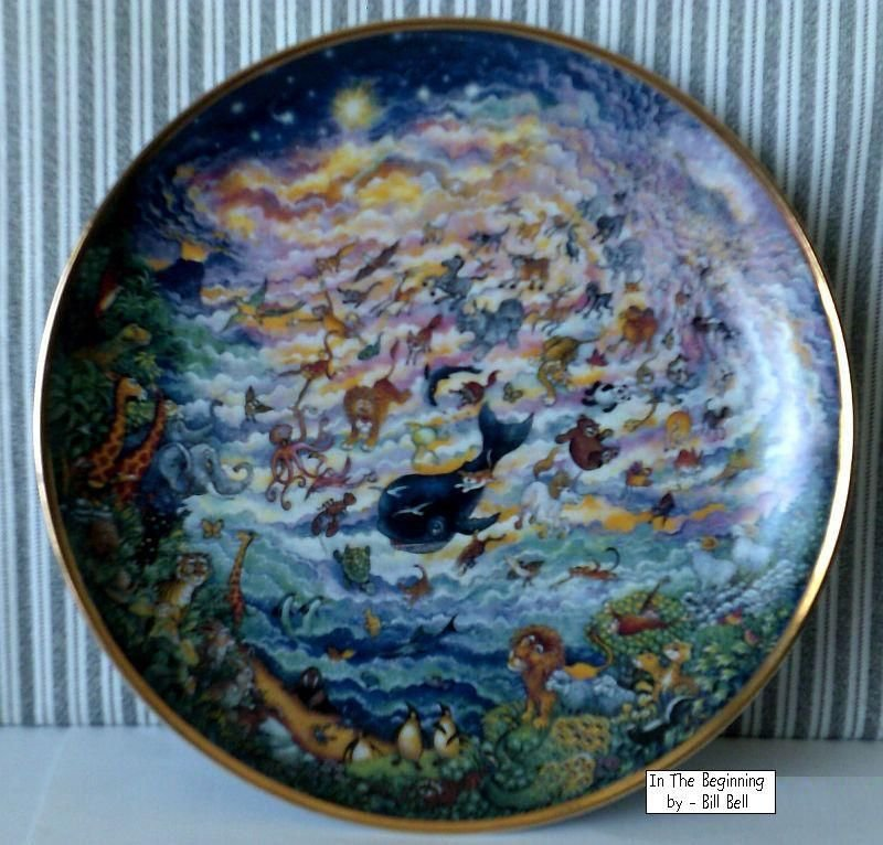 In The Beginning by Bill Bell from The Franklin Mint