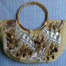"LookAt Yellow ""Glitzy"" handbag"